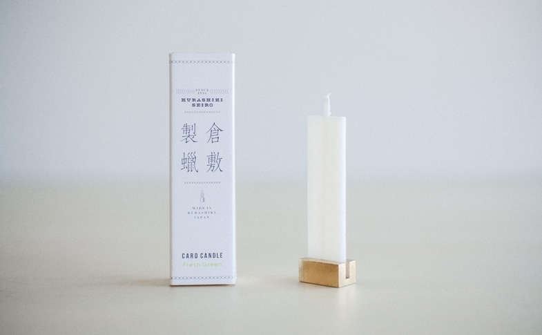 倉敷製蝋 CARD CANDLE